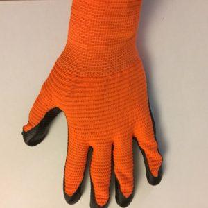 Werkhandschoenen met dikke voorbewerkte Nitrile laag