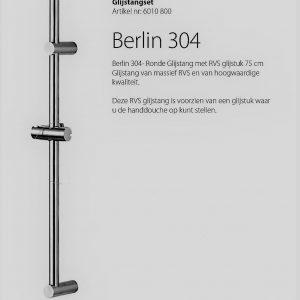 Massief RVS Design Glijstang Berlin 75 cm TA-Design