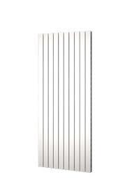 Designradiator verticaal dubbel middenaansluiting Serie TIRA 2000x450mm 1287W wit