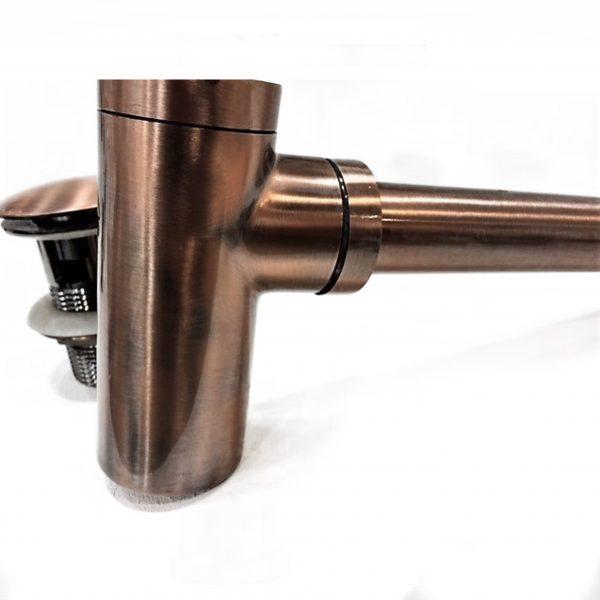 TA-Design F145 Copper Polish round Sifon