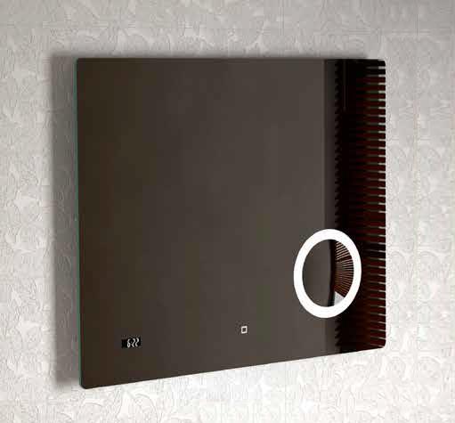 carinsa make up badkamer spiegel met led verlichting 80 x. Black Bedroom Furniture Sets. Home Design Ideas