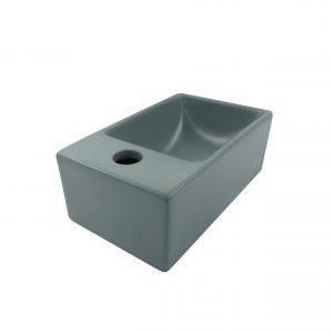 Viraldo Toilet fontein - Mat Grijs