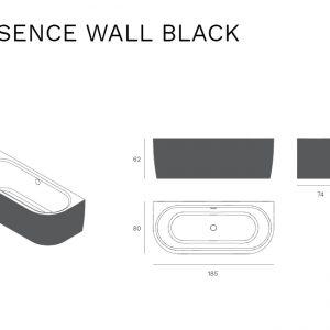 Essence-half-vrijstaand-zwart-specificaties